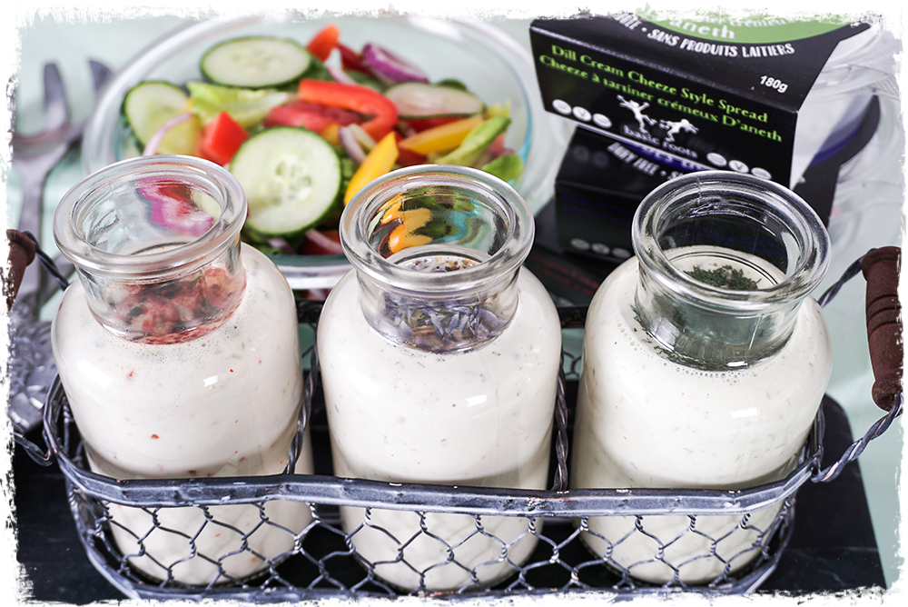 Summer salad dressings recipe by Basic Roots